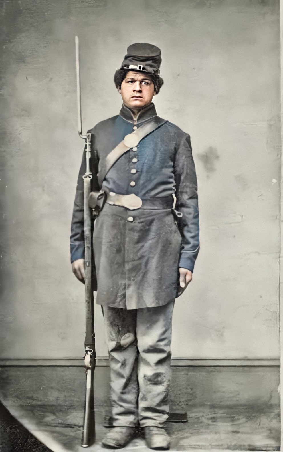 george grigsby usct f company 108th regiment