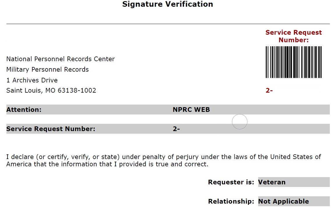 This is the form I signed and faxed to the address provided. But not sure if I did the request process correctly.