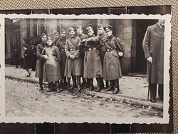 Paul Ernst Kaess with comrades