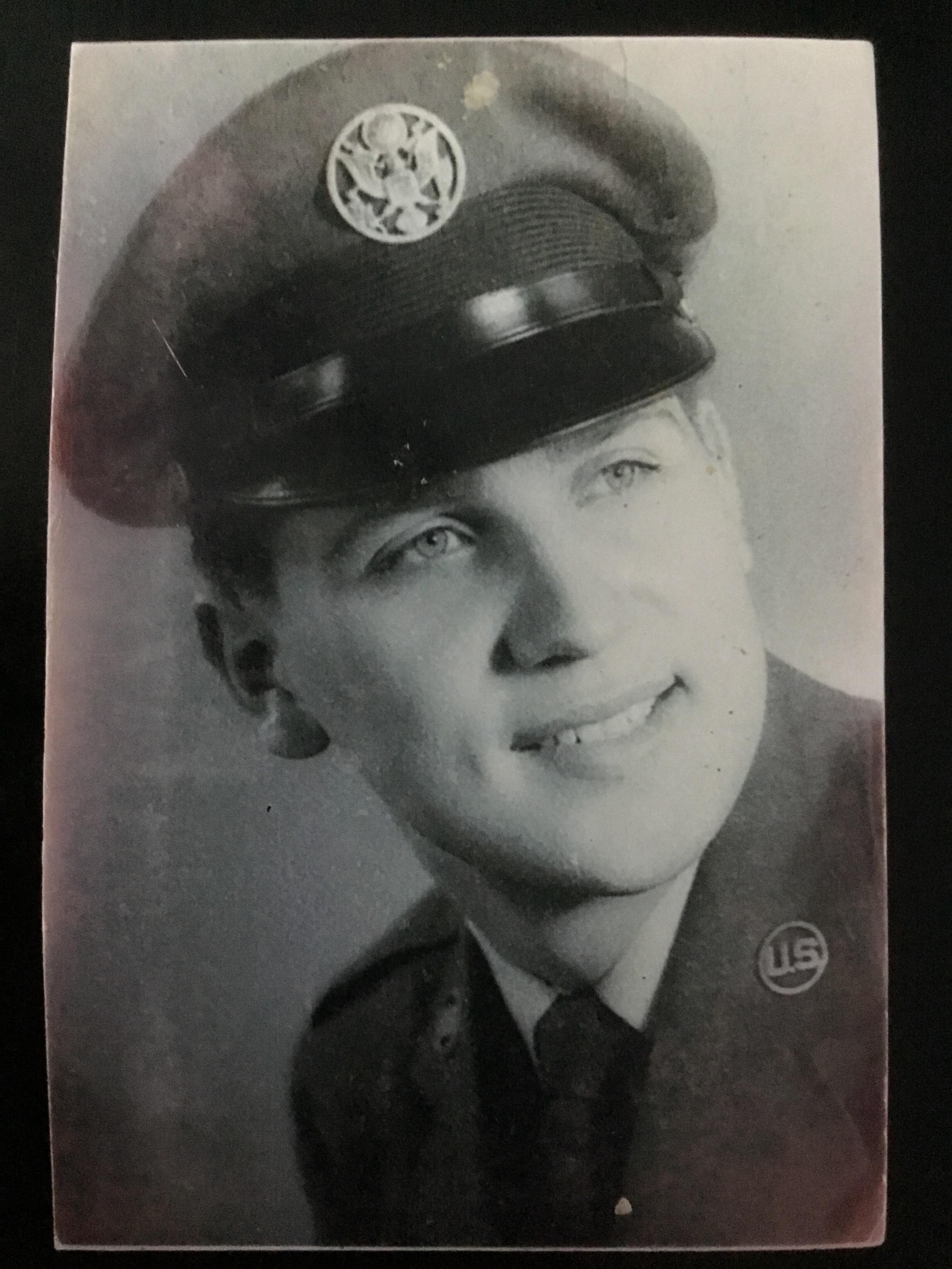 Airman Rivera Nieves in uniform (dated around 1955-1959)