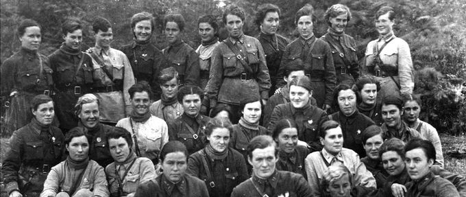 russian bombing squad, night witches