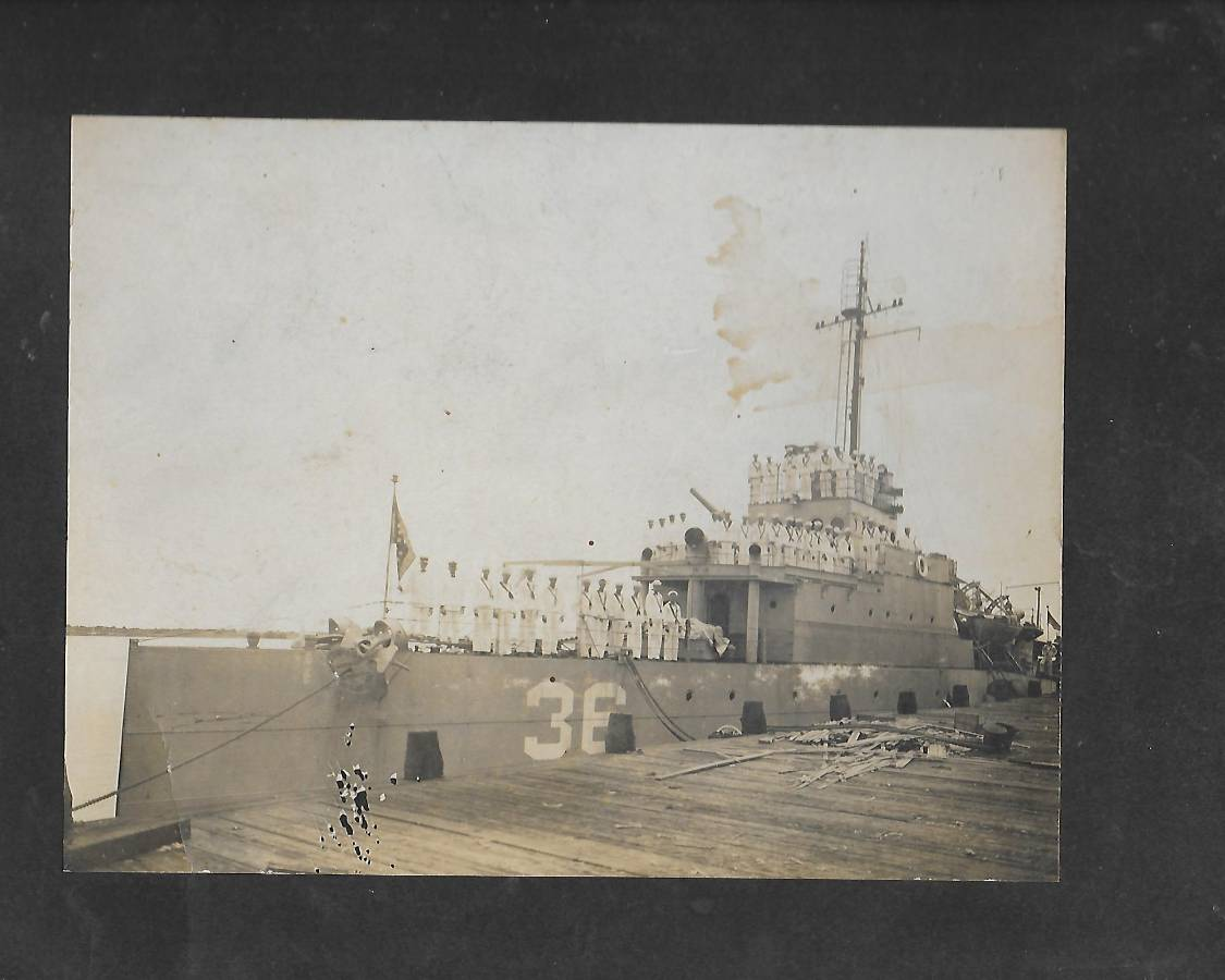 WW1 US Navy Ship Hull #36