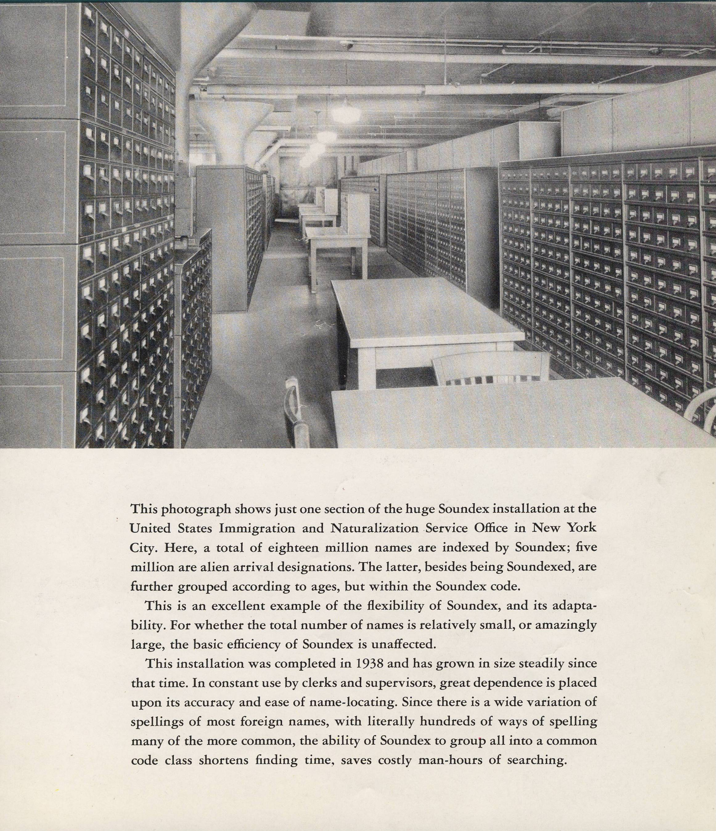 INS Office with Soundex System, from Catalog - RG 64, P 169, file Policy - Referral of Letters to INS.jpg