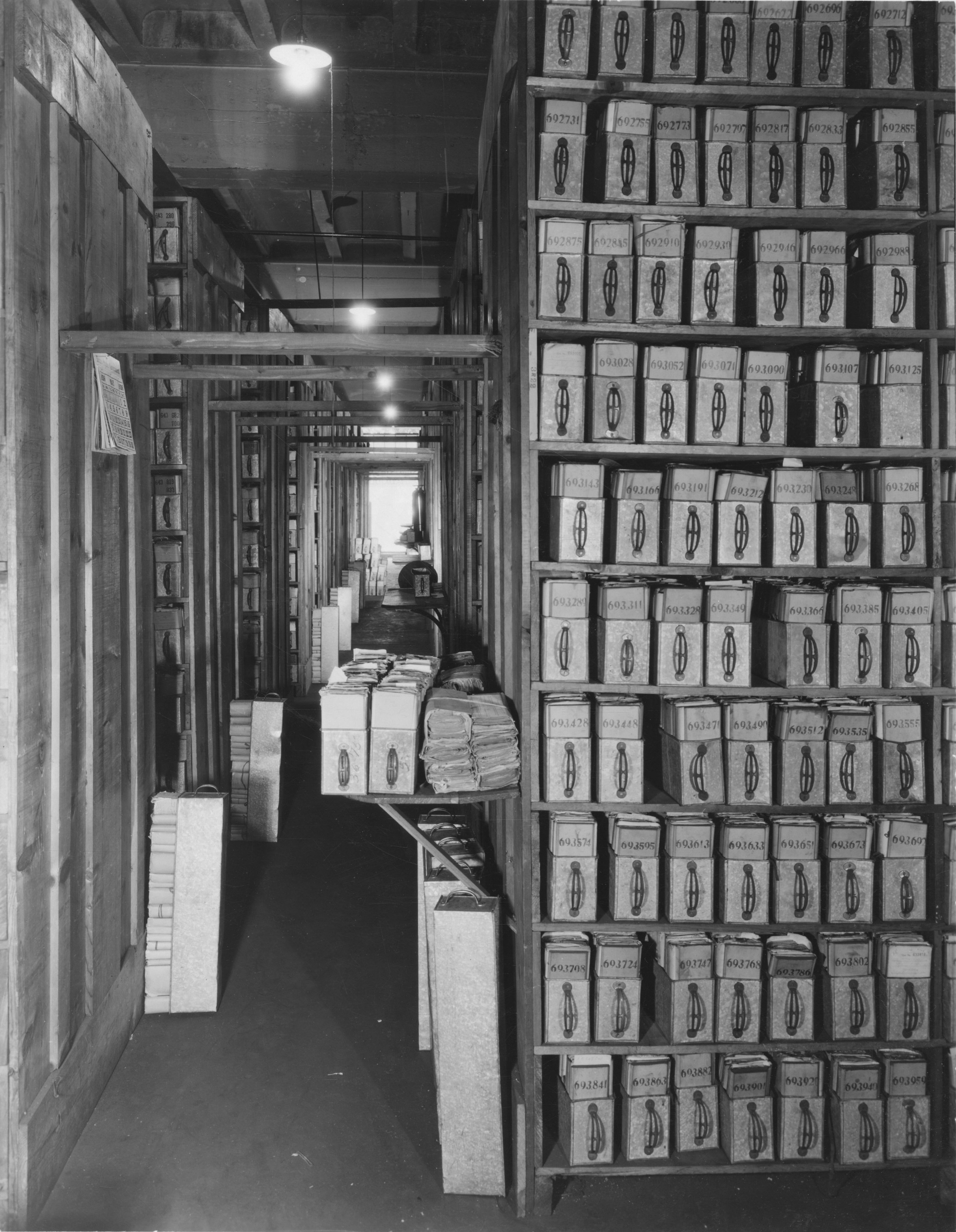 64-NAD-143 Pension Files in Garage, 1936.jpg